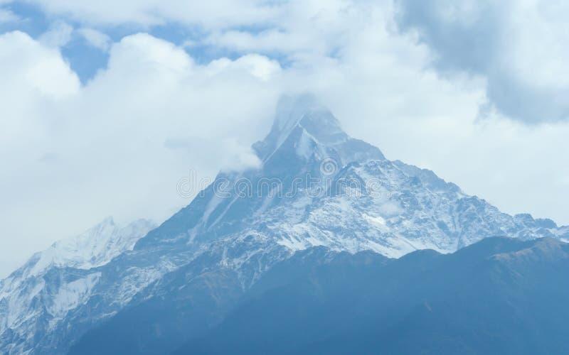 Himalaya område Nepal royaltyfri bild