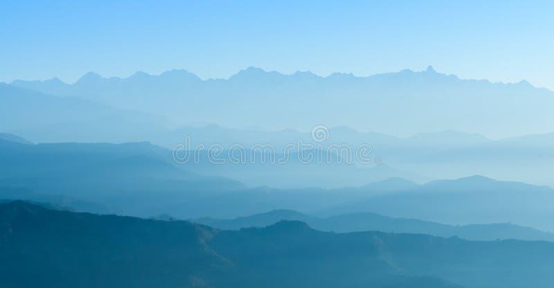 Himalaya område, Nepal arkivbilder