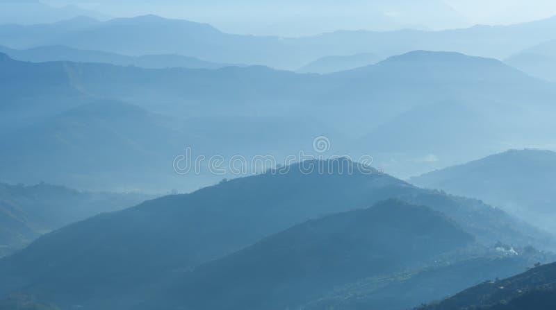 Himalaya område, Nepal arkivfoton