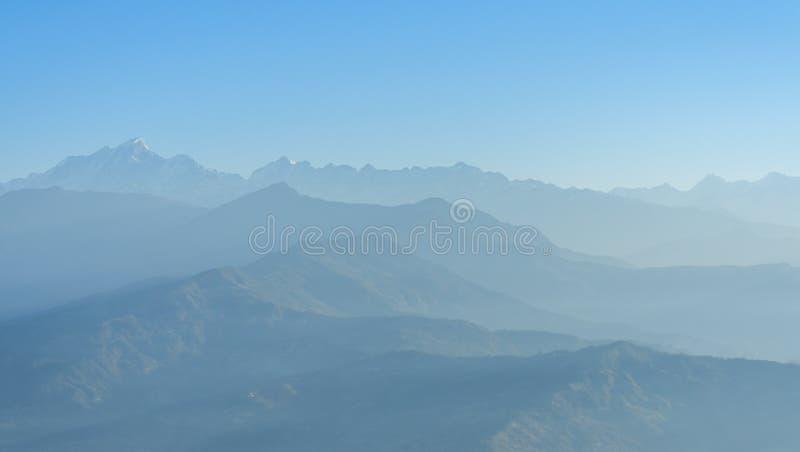 Himalaya område, Nepal royaltyfri foto