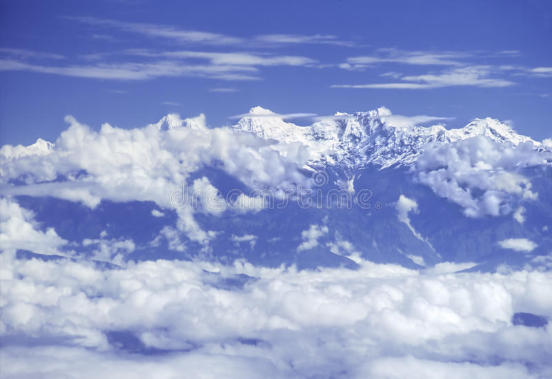 Download Himalaya range stock photo. Image of aviation, asia, altitude - 9751730