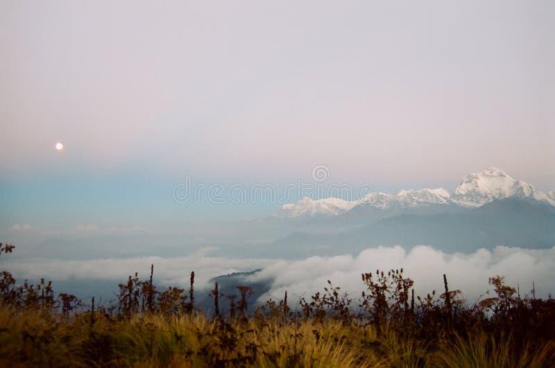 Himalaya Sunrise, Nepal royalty free stock photography