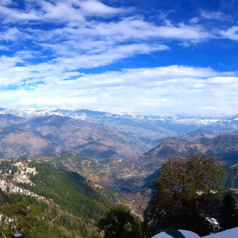 Himalayaen royaltyfria bilder