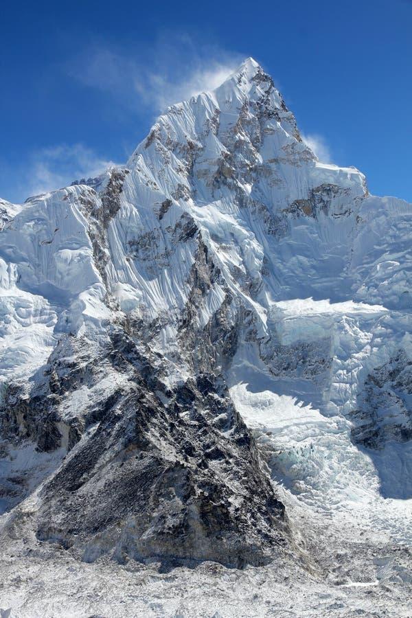 Himalayagebergte - Lhotse stock afbeeldingen