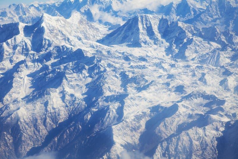 Himalayagebergte, Nepal royalty-vrije stock afbeelding