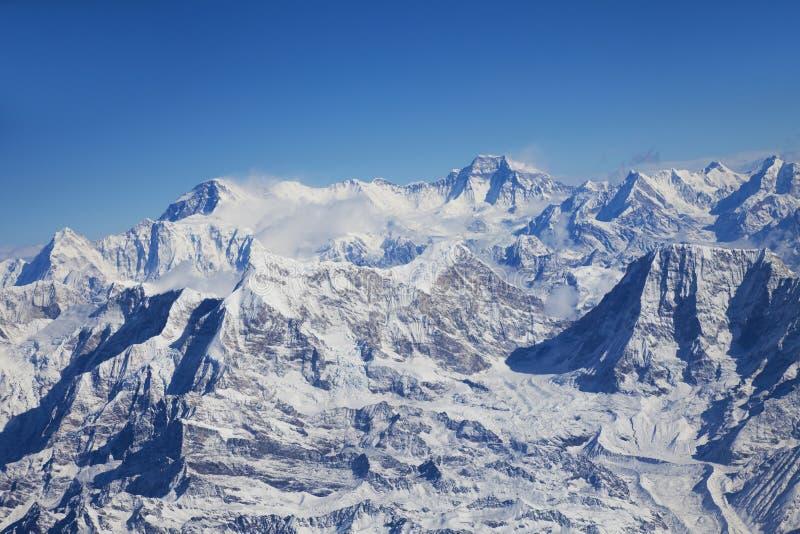 Himalayagebergte, Nepal royalty-vrije stock fotografie