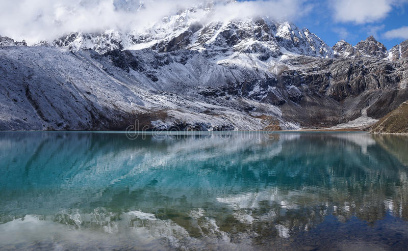 Himalayagebergte, Nepal stock foto