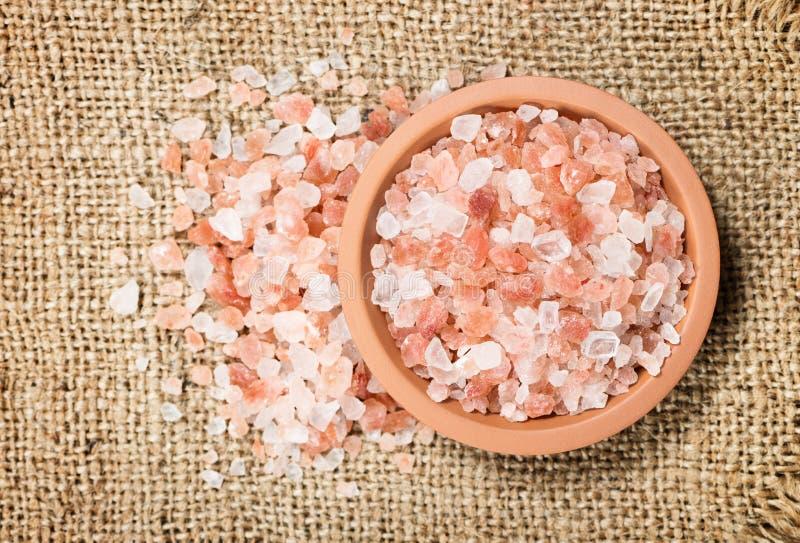 himalayan розовое соль стоковые фото