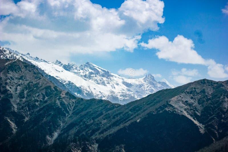 Himalayan berg royaltyfri bild
