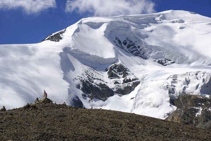 Himalayan Glacier stock photography