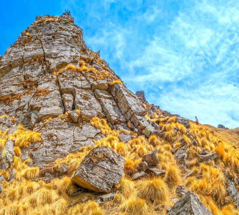 Himalayan landskap fotografering för bildbyråer
