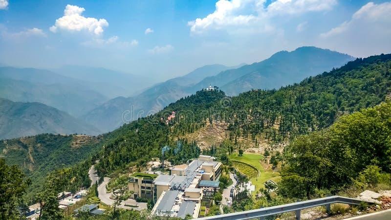 Himalayan mountain range in Mussoorie royalty free stock image