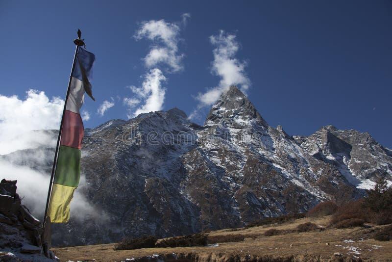 Himalayan mountains stock photography