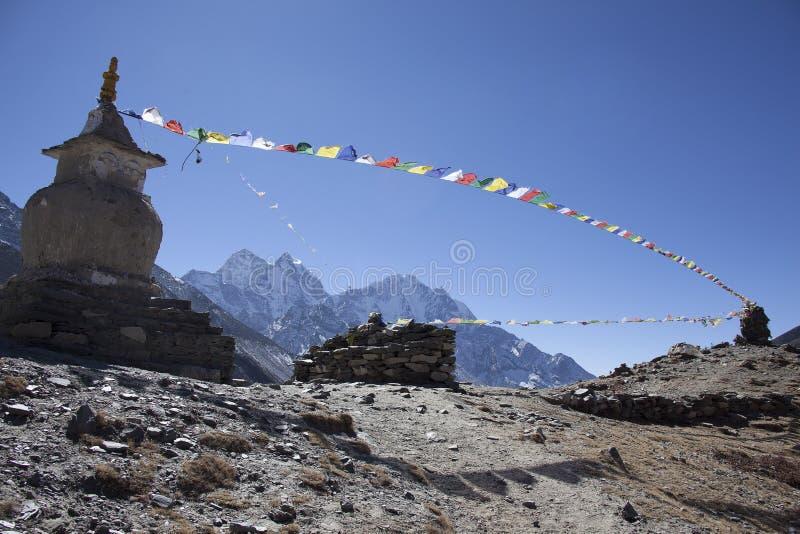 Himalayan mountains royalty free stock photos
