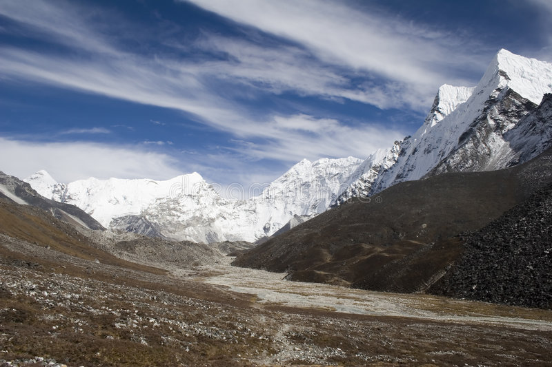 Himalayan Range stock photo
