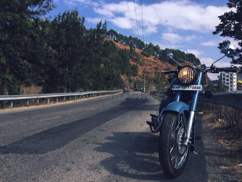 The himalayan road stock image