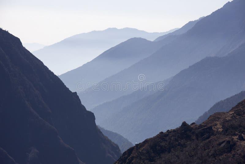 Himalayan sunrise royalty free stock photos