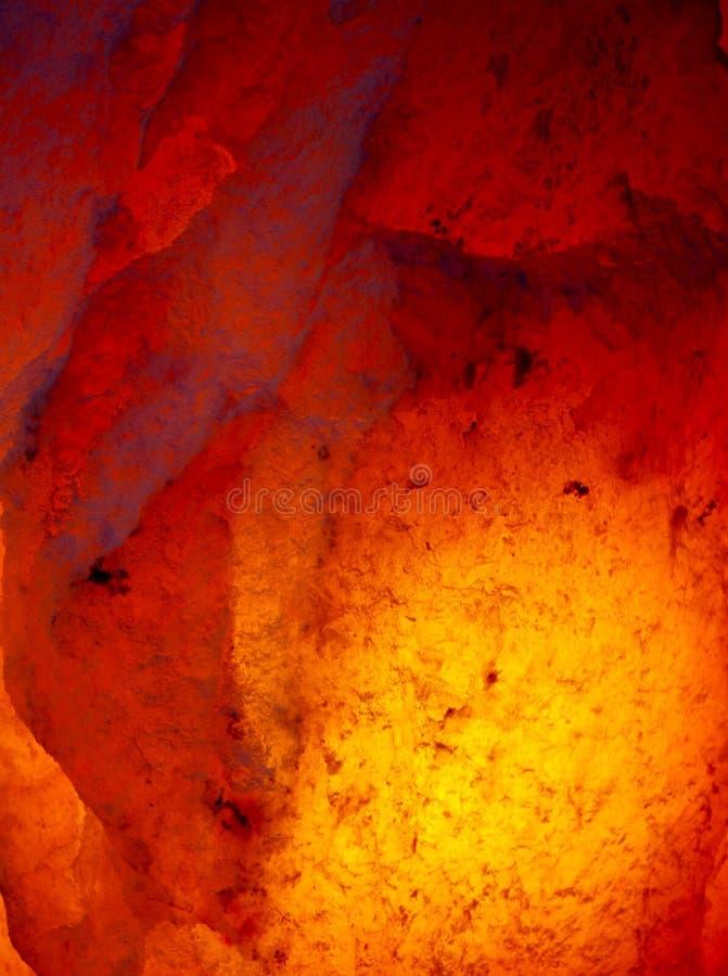 Himalayan zoute lamp stock afbeeldingen
