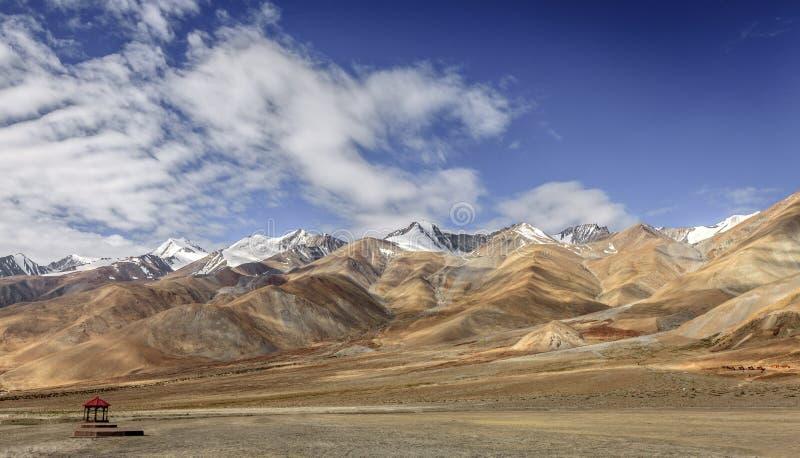Himalayanlandschap royalty-vrije stock fotografie