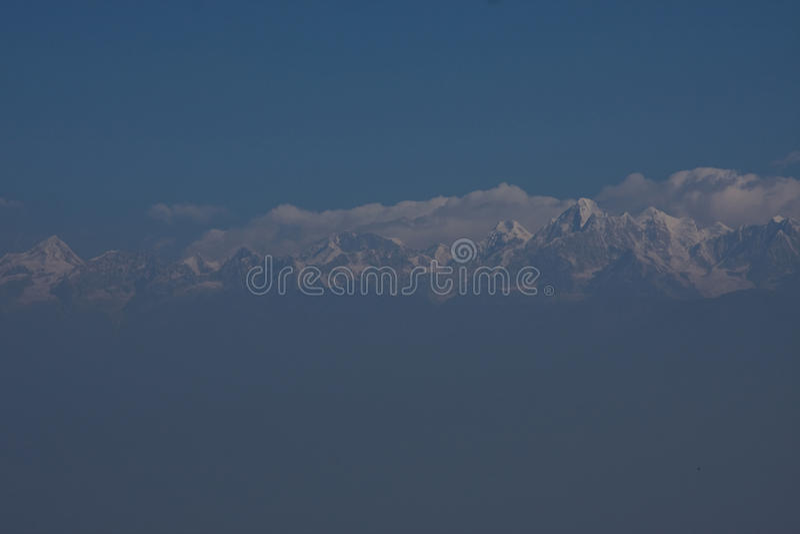 The Himalayas royalty free stock photo