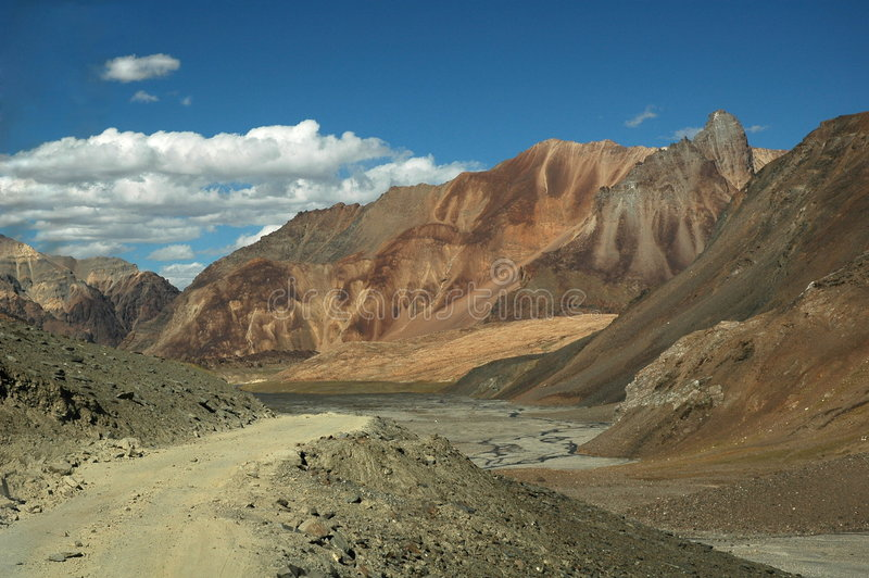 The Himalayas royalty free stock image