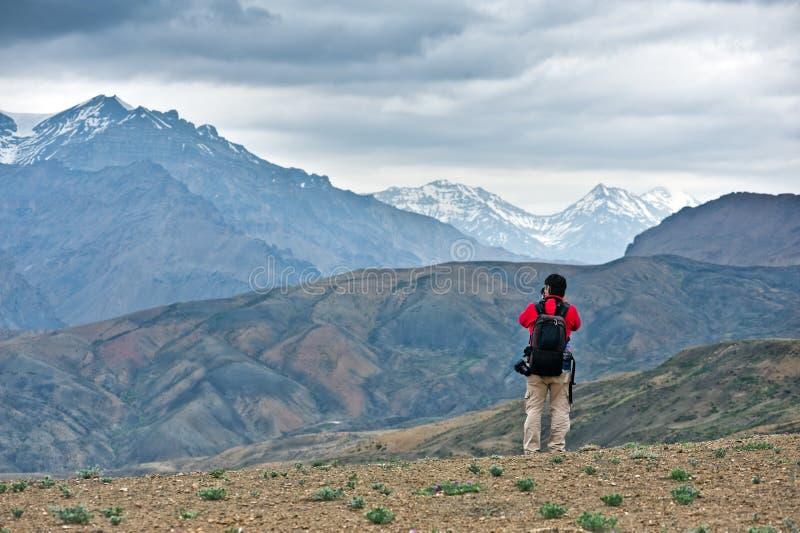 Himalayas royaltyfria bilder