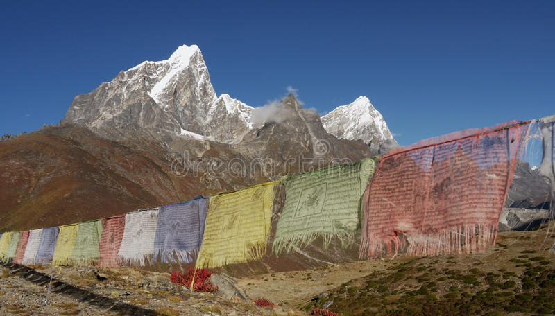 Download Himalayas stock image. Image of flags, blue, budhist - 27476603