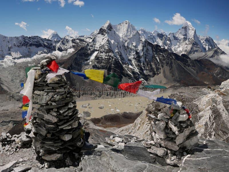 Himalayas fotos de stock royalty free