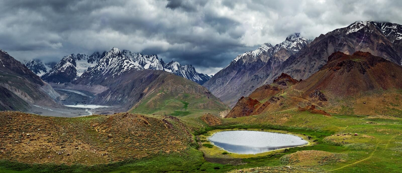 Himalayas foto de stock