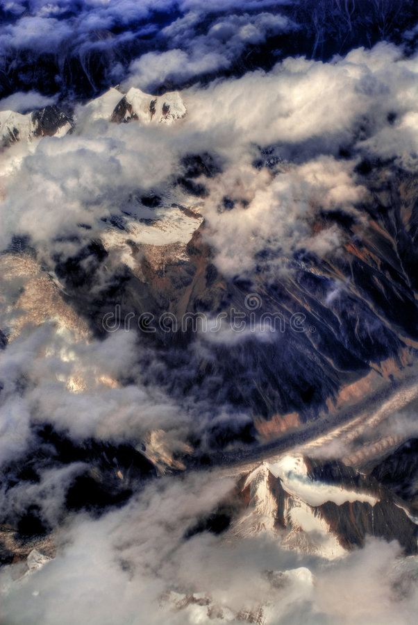 Download The Himalayas stock photo. Image of peak, snow, landscape - 4361886