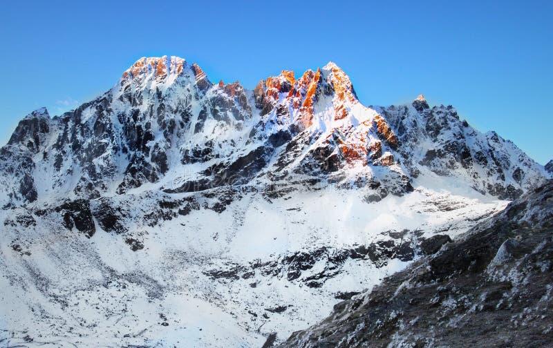 Himalayas, Everest Region royalty free stock images