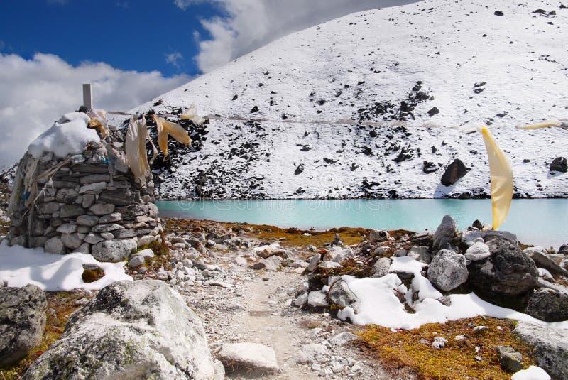 Himalayas Mountains Lake royalty free stock image