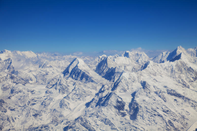 Himalayas, Nepal stock image