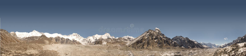 himalayas nepal royaltyfri fotografi