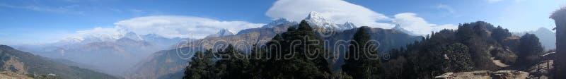 Himalayas para novatos: Uma perspectiva mais larga imagem de stock