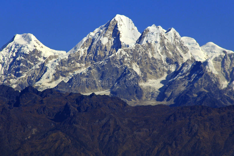 The Himalayas stock image