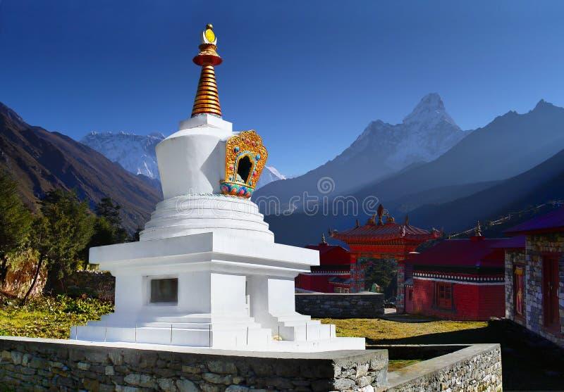 Himalayas, Tengboche Buddhist Monastery stock photography