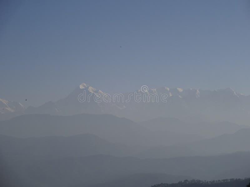 Himalya berg royaltyfria bilder