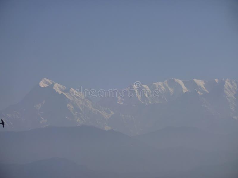 Himalya berg royaltyfria foton