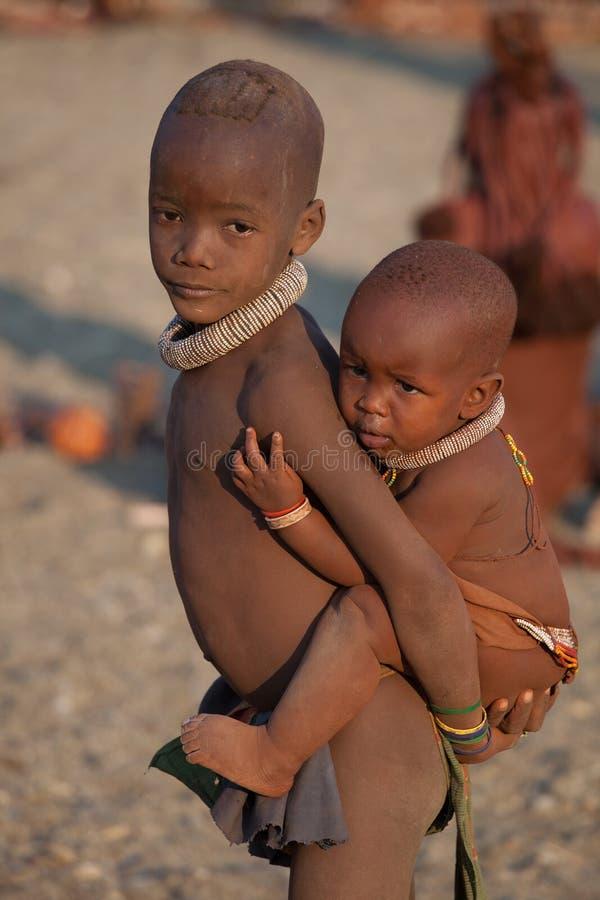 Himba Children Editorial Photography