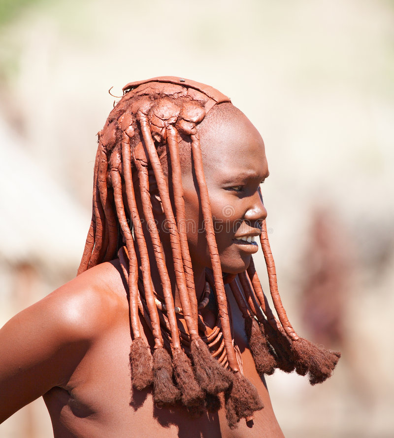 Himba woman stock images
