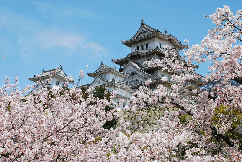 Himeji fotografia de stock royalty free