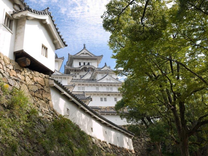 Himeji Castle stock photo