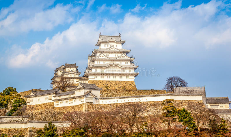 Himeji Castle. Consider to be the biggest castle in Japan royalty free stock photos