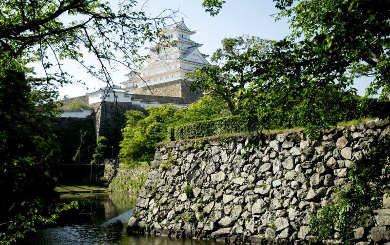 Himeji castle Japão stock image
