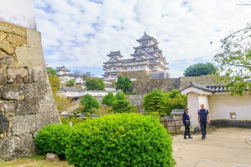 Himeji Castle, Japan royalty free stock image