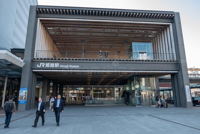 HIMEJI, HYOGO-PRÄFEKTUR, JAPAN 10. NOVEMBER 2018: Allgemeine Ansicht stockfotos
