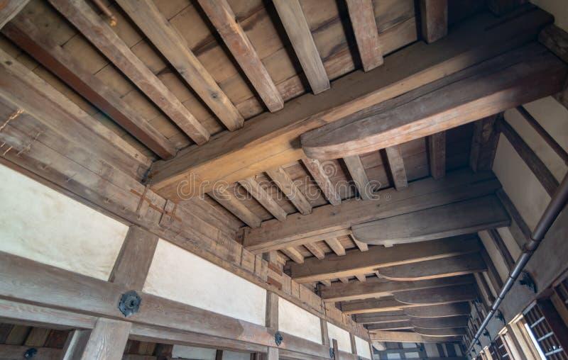 HIMEJI, HYOGO-PRÄFEKTUR 10. NOVEMBER 2018: Innenraum von Himeji lizenzfreie stockfotos