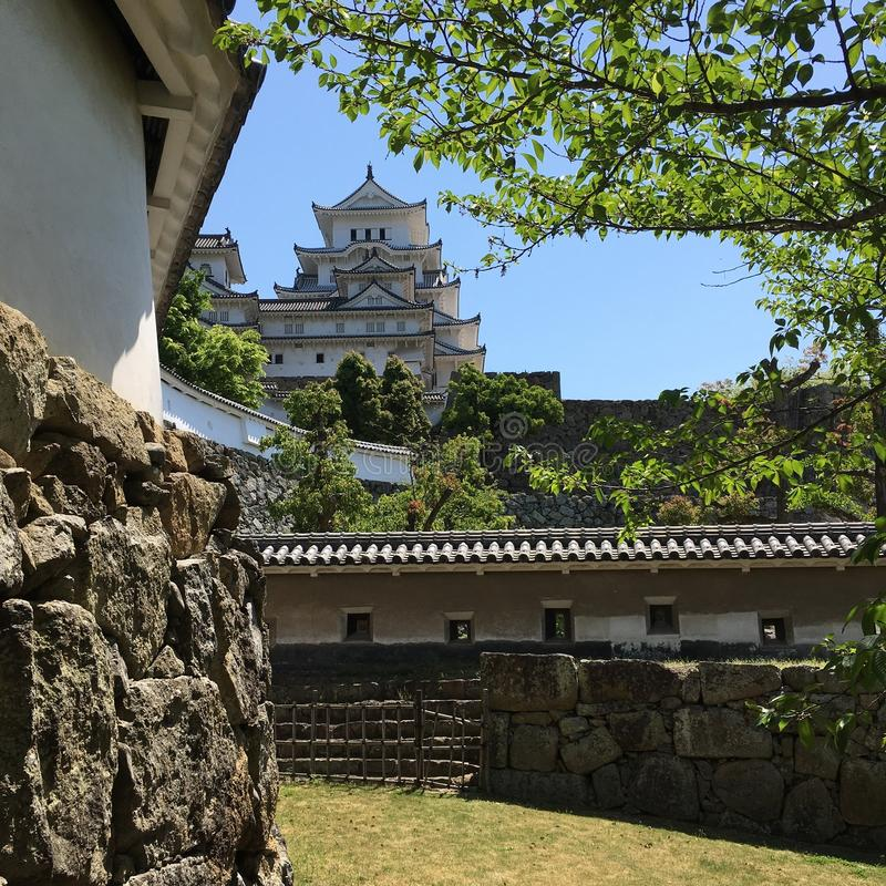 Himeji kasztel obrazy stock