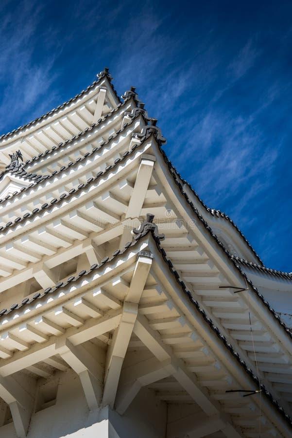 Himeji kasztel w Japonia UNESCO zdjęcie royalty free